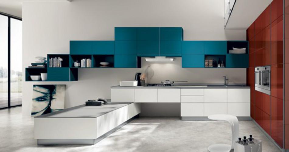 disegno » cucine soggiorno open space - ispirazioni design dell ... - Soggiorno Cucina Open Space Ikea